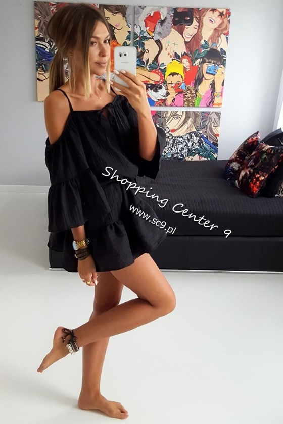 BLACK BALI DRESS