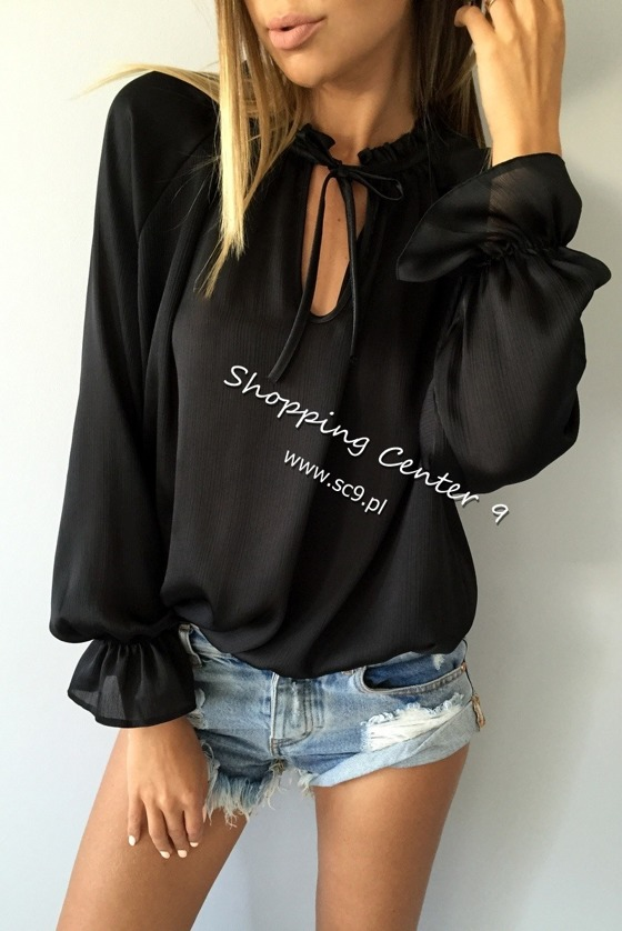 BLACK ISABELL BLOUSE