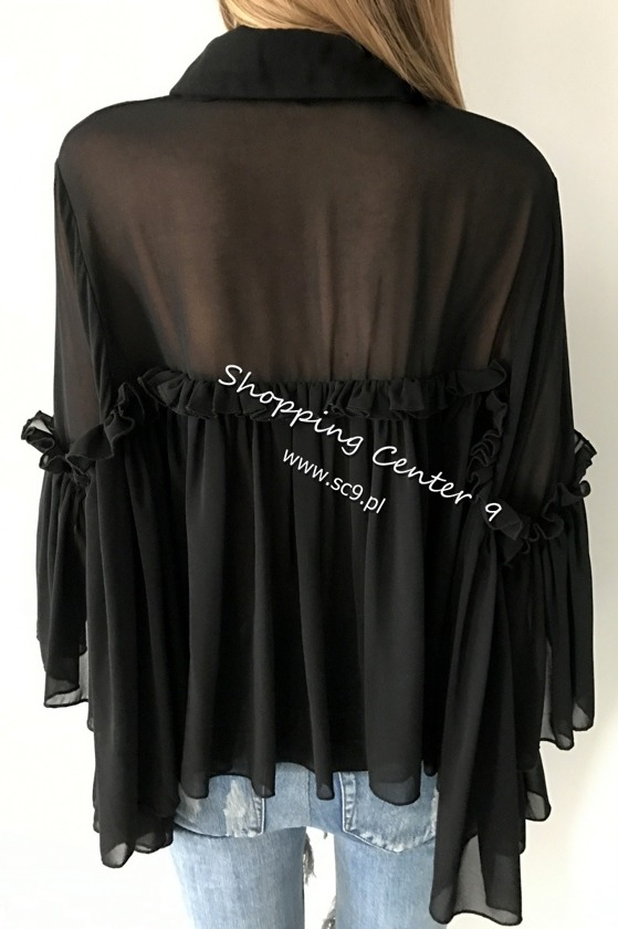 BLACK MIA BLOUSE