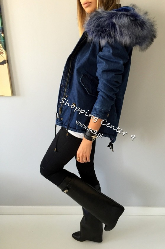 BLUE DENIM JACKET