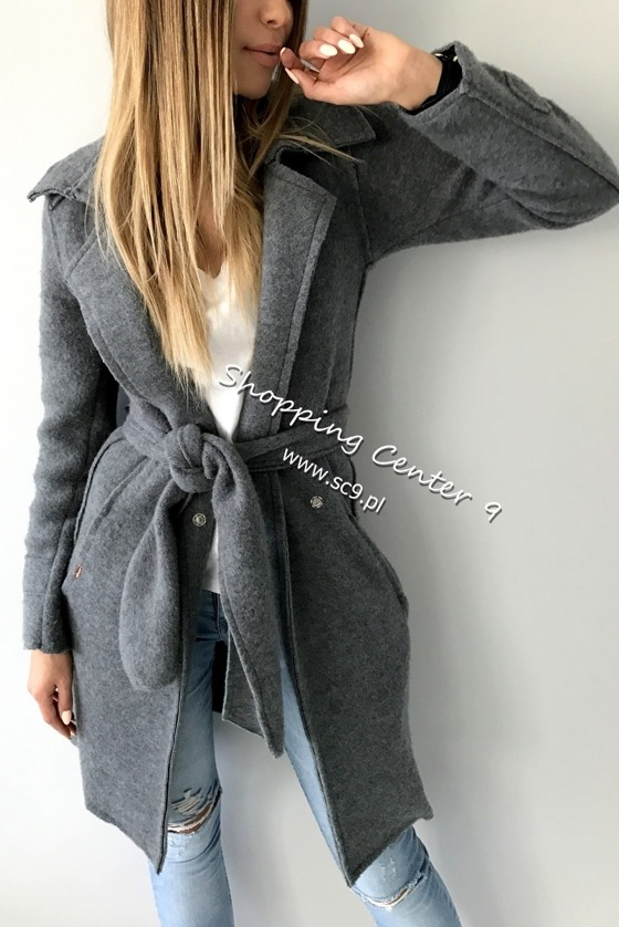 GRAPHITE LANA COAT