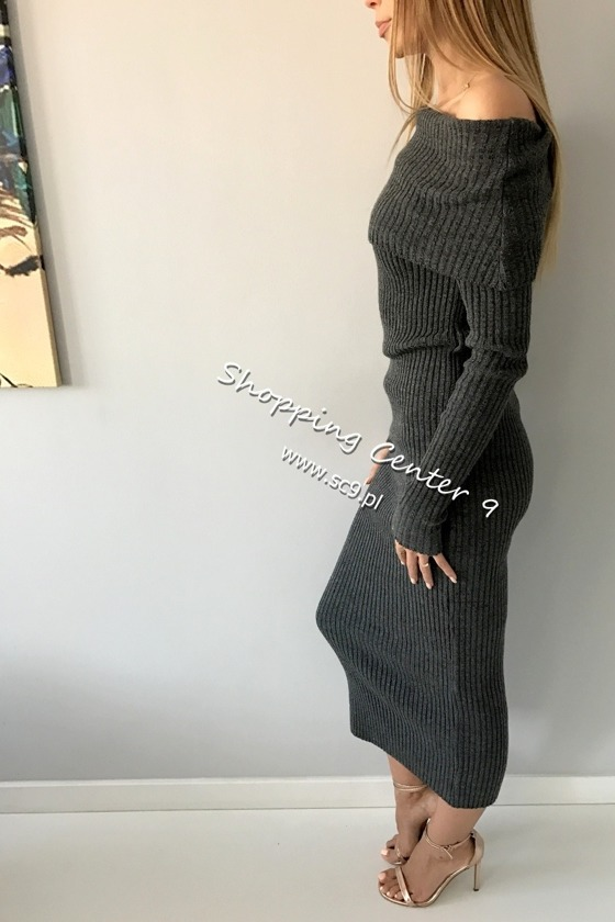 GRAPHITE MAXI DRESS ROSSIE