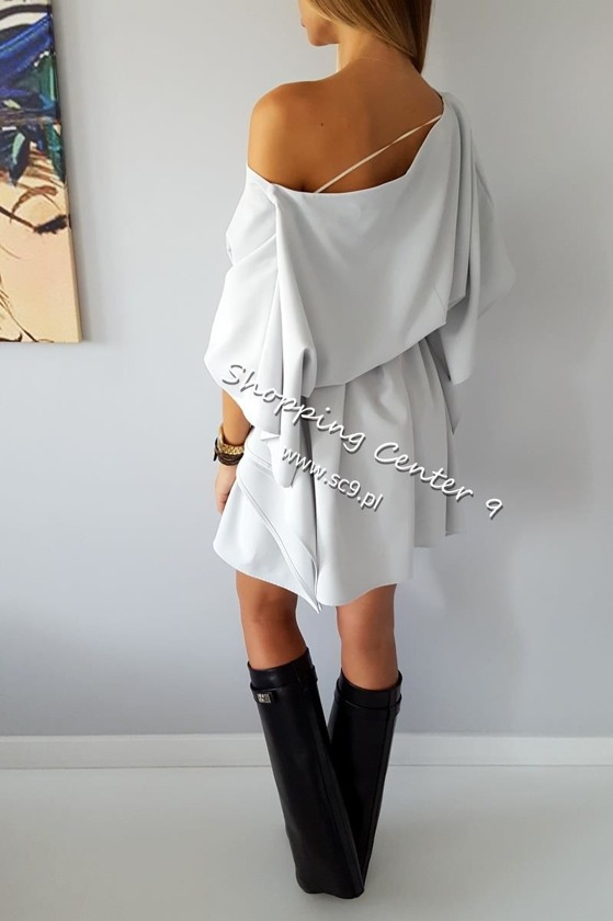 GREY MIKO DRESS
