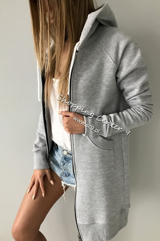 GREY SPORTY SWEATSHIRT