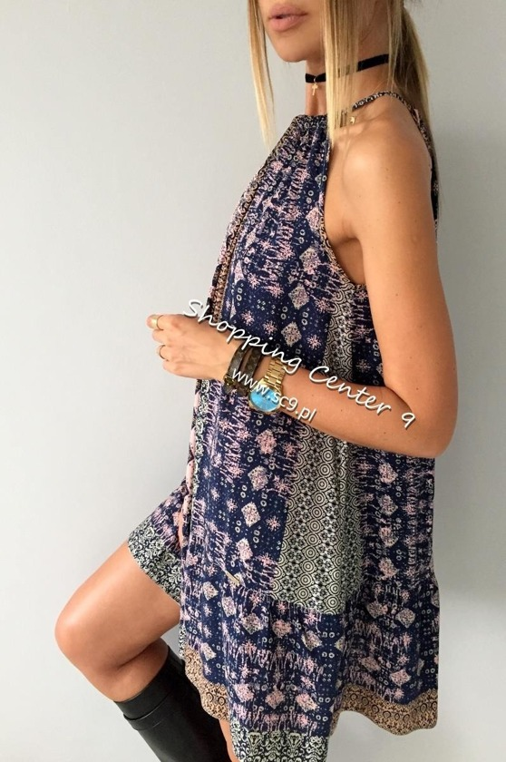HIPPIE MINI DRESS