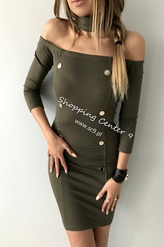 KHAKI DRESS KYLIE