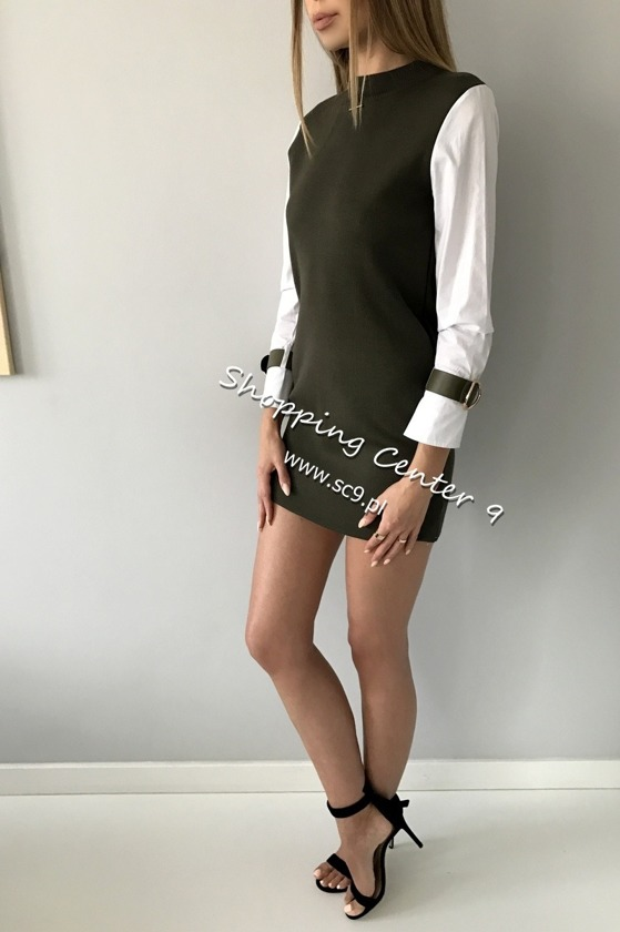 KHAKI OFFICE TUNIC