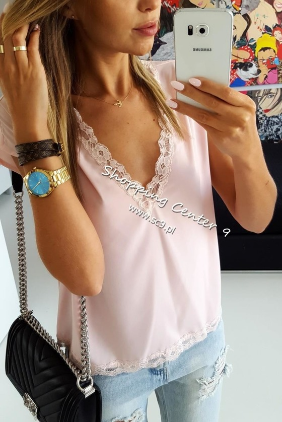 PINK ROMA BLOUSE