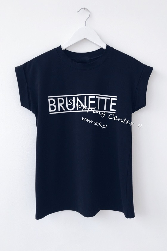 BLACK BRUNETTE T-SHIRT