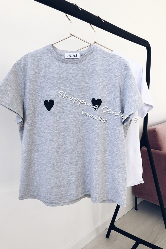 BLACK HEARTS T-SHIRT