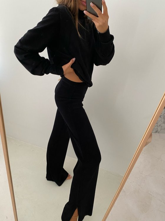 COMFY N' CHIC PANTS BLACK
