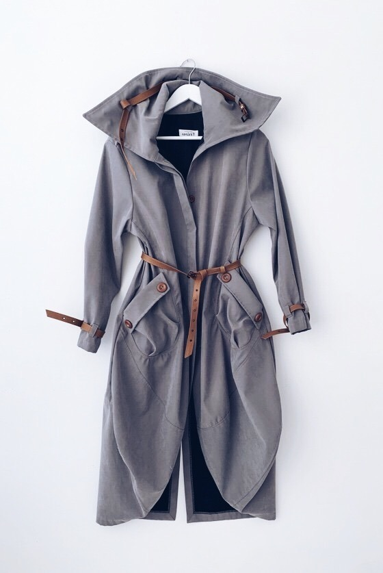 GREY APOLLO COAT