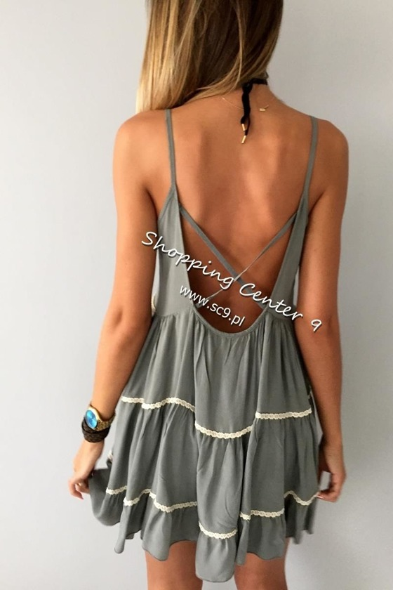 HOLLYWOOD OLIVE DRESS