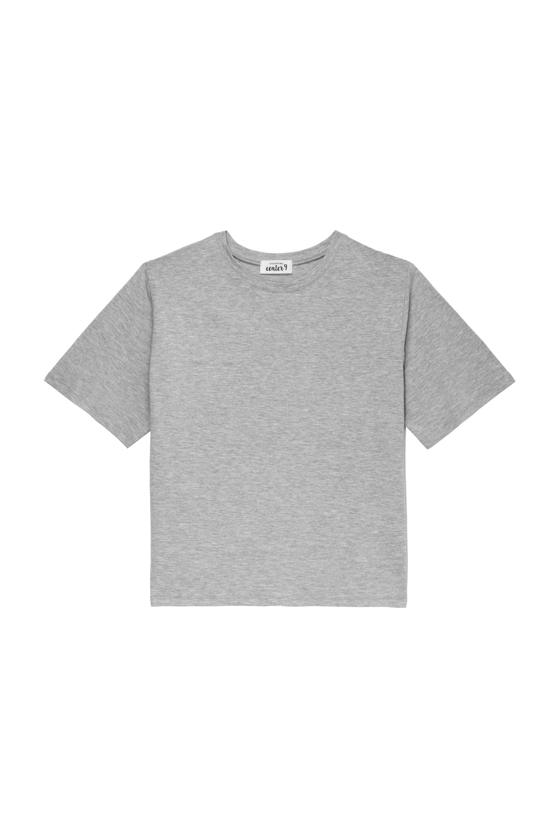 O-NECK T-SHIRT GREY