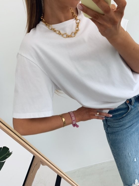 O-NECK T-SHIRT WHITE