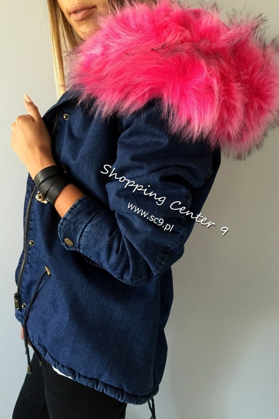 PINK DENIM JACKET