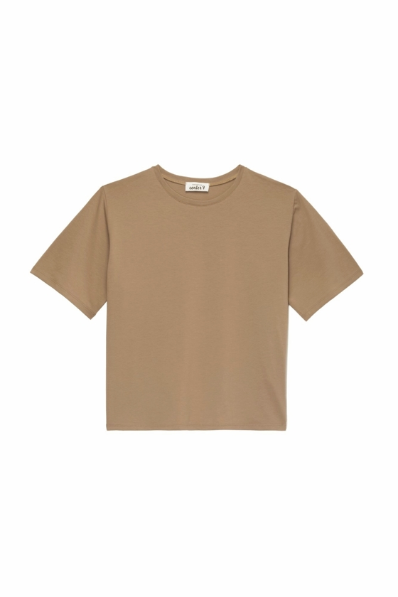 T-SHIRT O-NECK HONEY