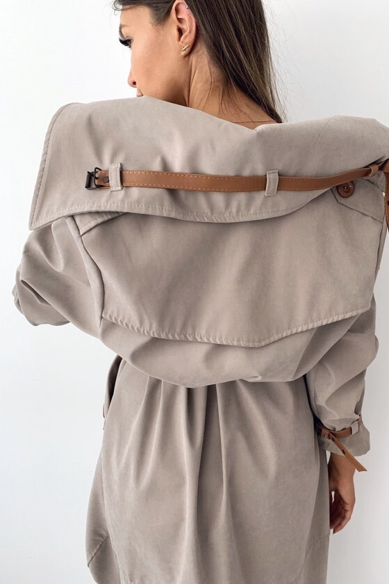TAUPE APOLLO COAT